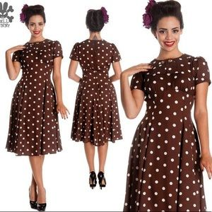 1940's Reproduction Dress by Hell Bunny Vixen